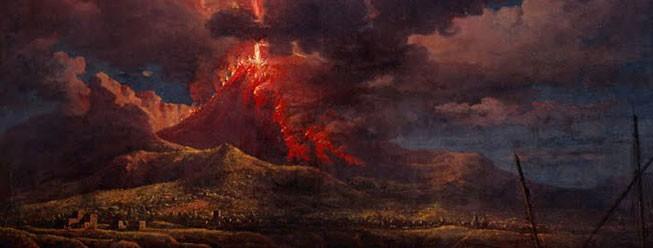 Eruzione vulcano la potenza della natura